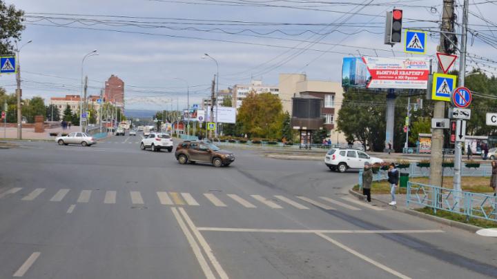 В Самаре улицу Осипенко перекрыли на четыре дня