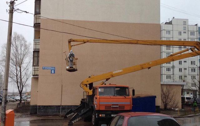 Уфимский депутат профинансирует граффити Натальи Ковшовой