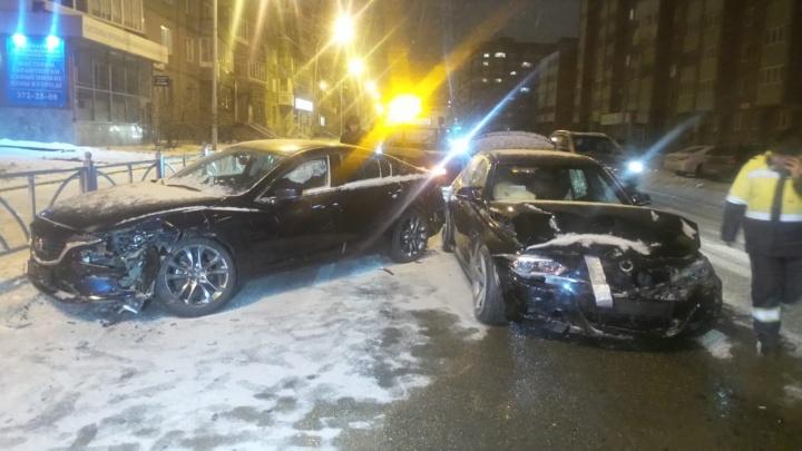 «Водитель BMW дрифтовал»: в районе Автовокзала столкнулись две иномарки