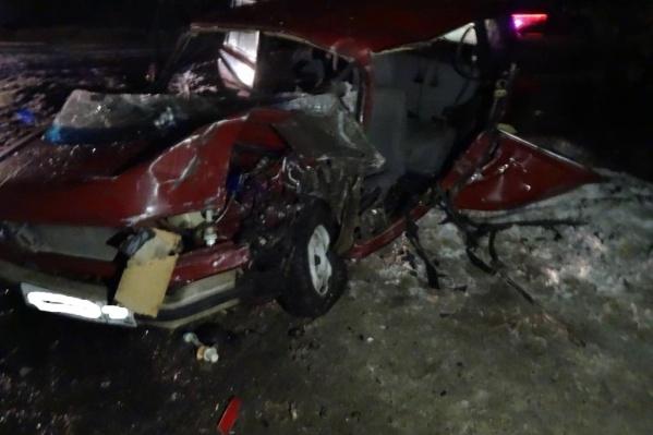 В результате ДТП также пострадал пассажир отечественной легковушки