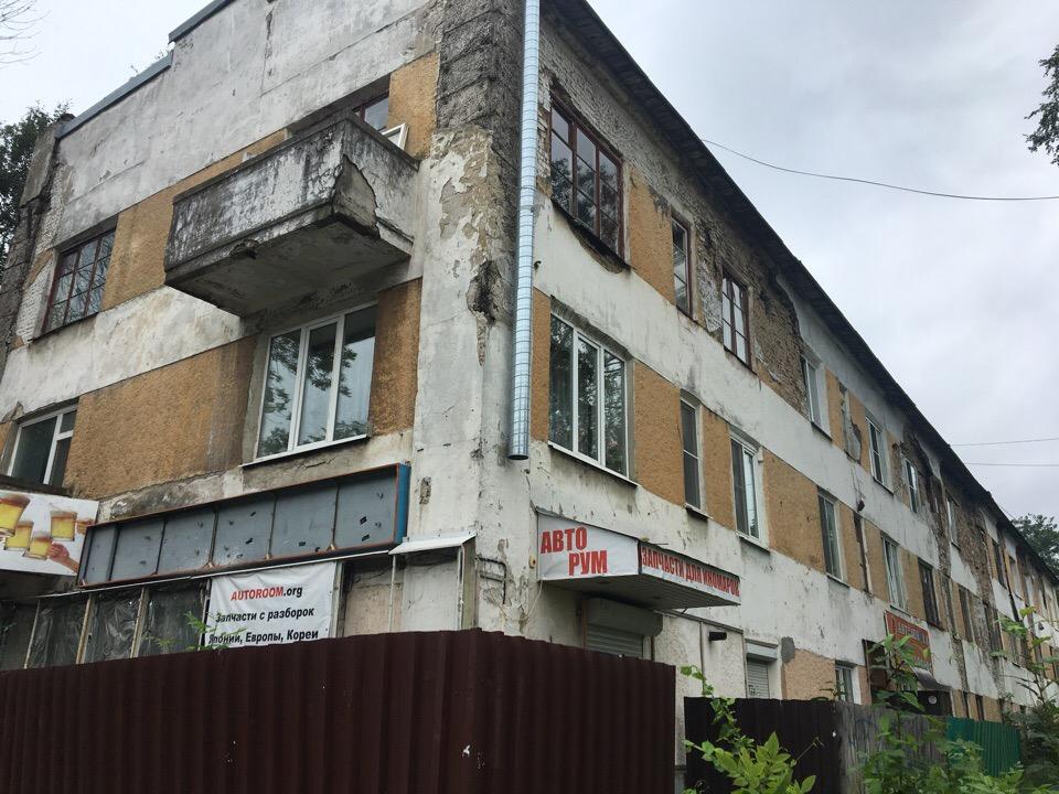 Эти разваливающиеся здания являются примером конструктивизма 1930-х