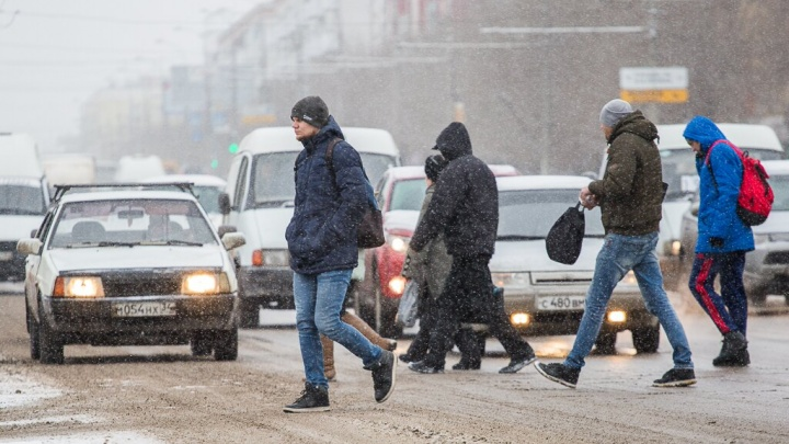 Волгоград накроет туманом и засыплет снежными зернами