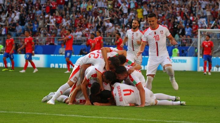 «Сербия!»: на «Самара Арене» завершился первый в истории города матч ЧМ по футболу