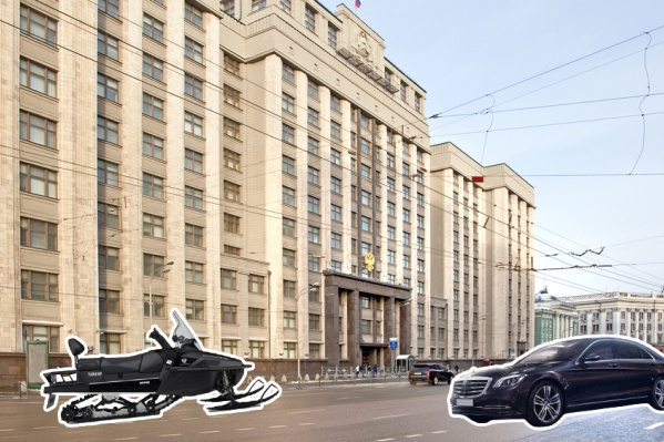 Депутаты Госдумы любят передвигаться по дорогам и снегу с роскошью и комфортом