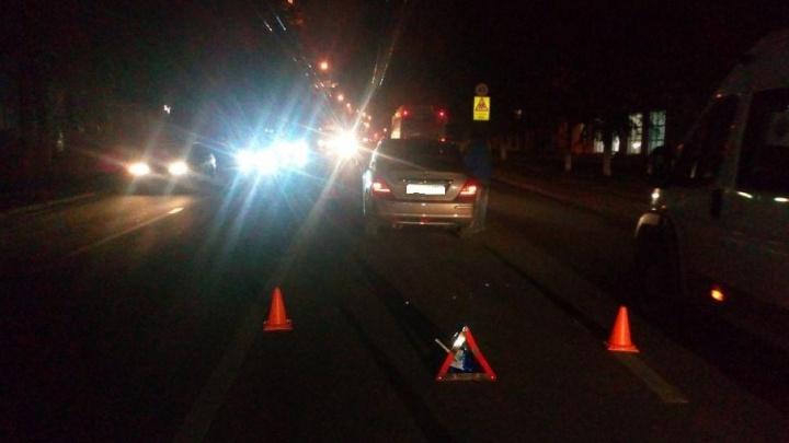 Восьмилетнего уфимца сбила машина, когда он перебегал дорогу