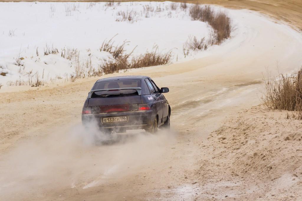 В Берёзовском прошло первое в этом году снежное ралли