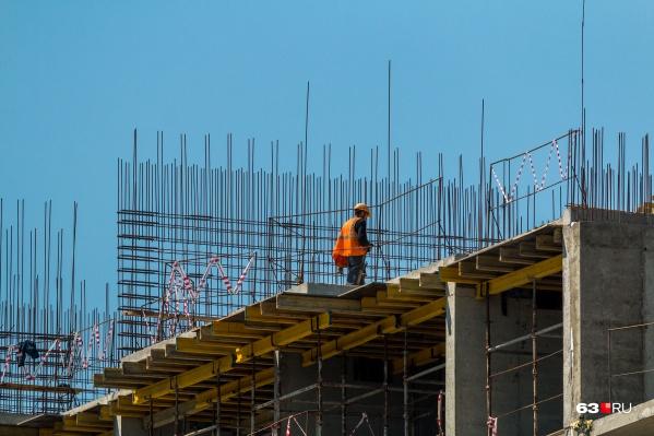 Сроки строительства домов пока не разглашают
