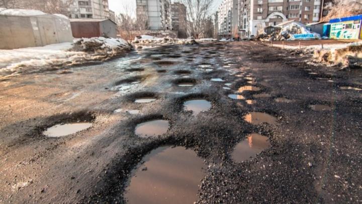 «Здесь же деревья можно сажать!»: улицу Дачную пообещали подровнять весной