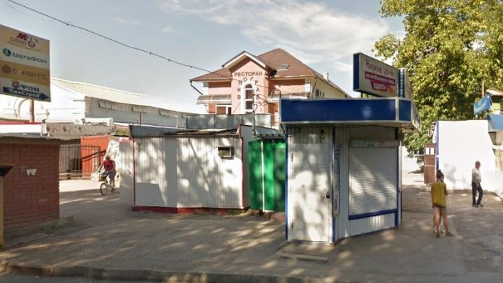 В Самаре под снос попал ресторан «Виноград» рядом с Безымянским рынком