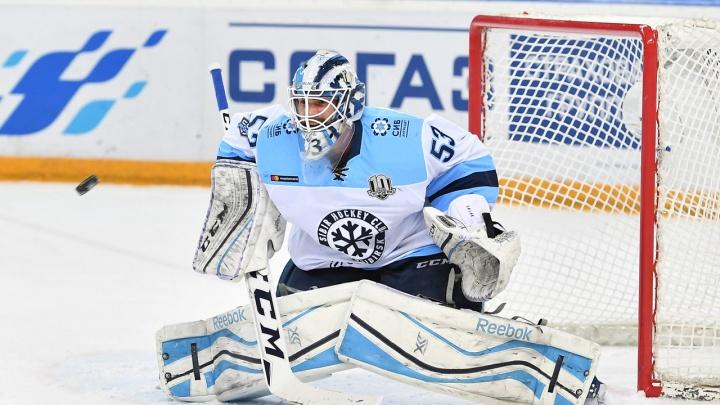 Хоккей: ХК «Сибирь» победил омский «Авангард»
