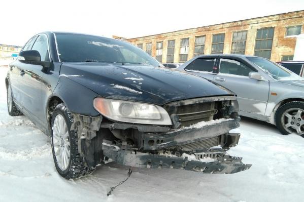 На ремонт автомобиля понадобится 218 тысяч рублей