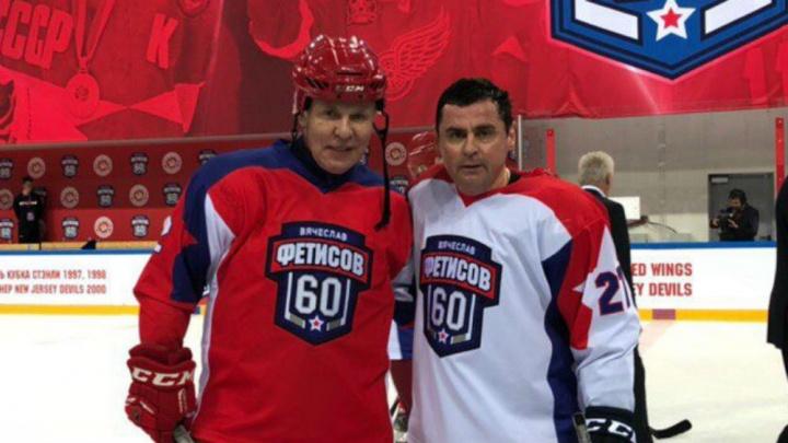 Дмитрий Миронов и президент «Локомотива» сразятся на льду со звёздами хоккея
