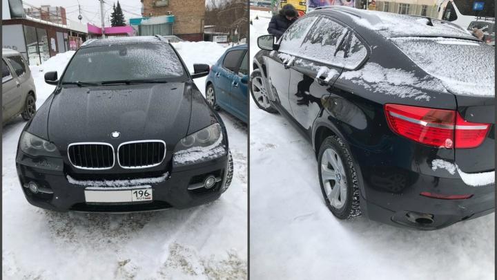 В Екатеринбурге у мужчины забрали BMW X6 из-за огромного долга по алиментам
