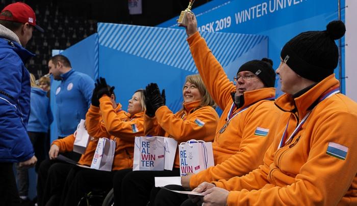 Свердловчане завоевали серебро на чемпионате России по кёрлингу на колясках