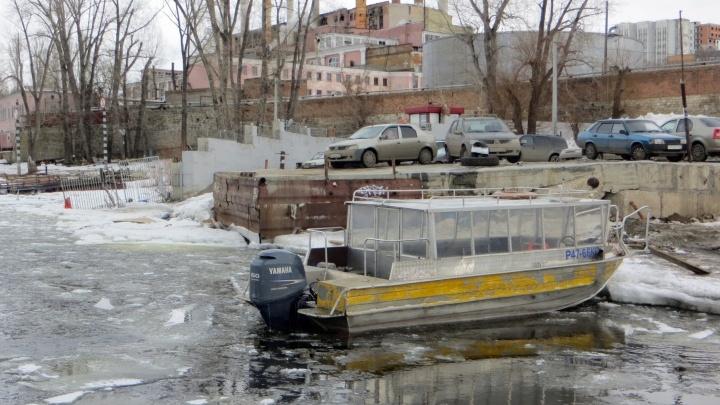 В Самарской области закрыли переправу по Волге