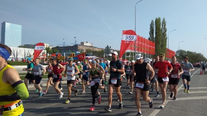 Волгоградский марафон прошёл в 31-й раз и собрал 1000 участников