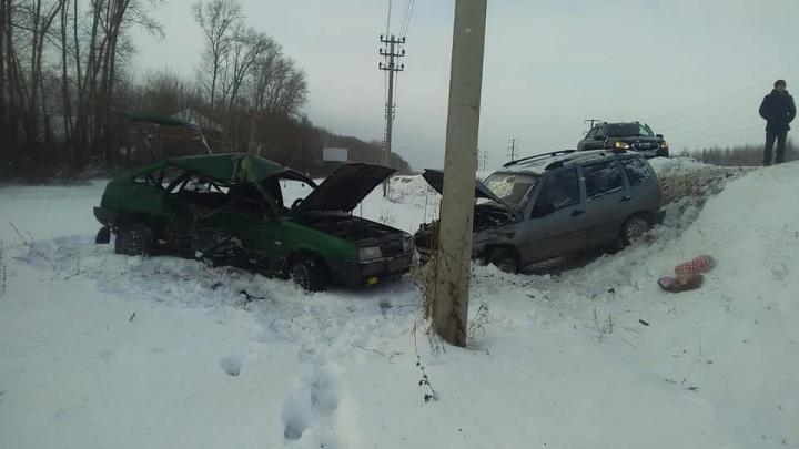 В ДТП на трассе в Башкирии погибли мать и дочь