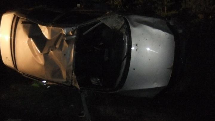 Смертельная авария на трассе в Башкирии: легковушка улетела в кювет