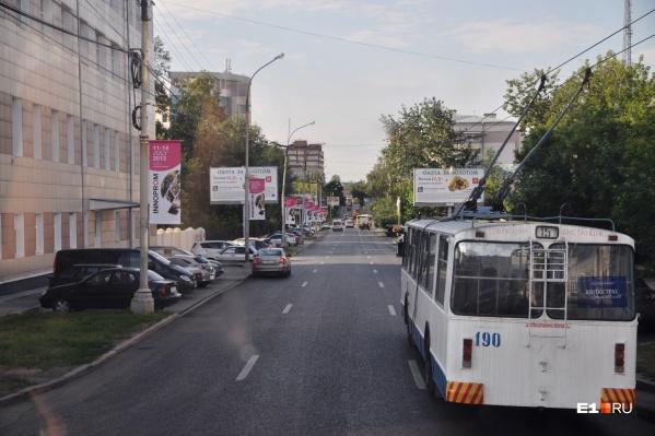 Троллейбус №15 изменит схему движения