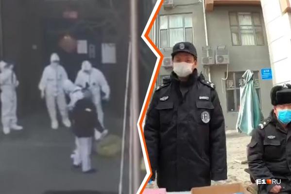 В городе запрещено появляться без масок, но их практически нигде не достать