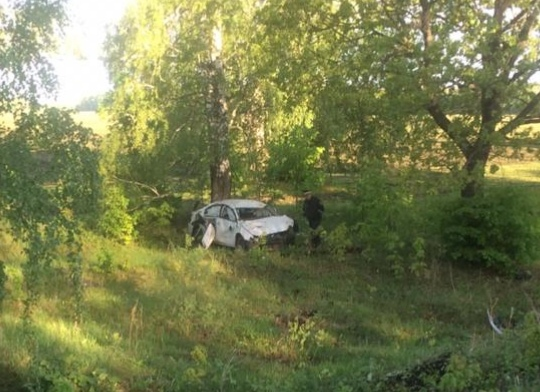 Житель Башкирии на Volkswagen Jetta улетел в кювет: водитель скончался на месте