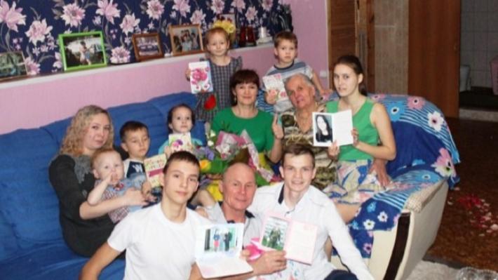 Многодетная семья из Прикамья победила во всероссийском конкурсе «Семья года 2019»