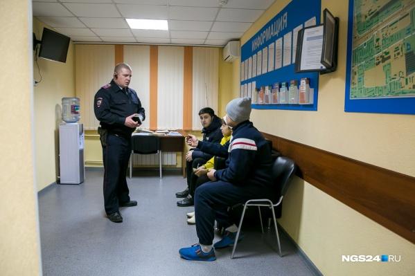 Избитый красноярец обратился с заявлением в полицию