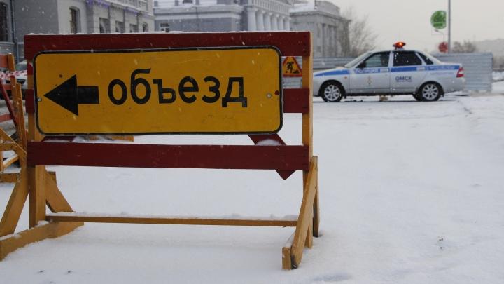 Стало известно, где в городе перекроют движение в связи с 23 февраля