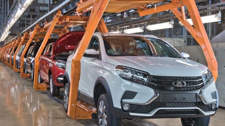 В Тольятти запустили серийное производство Lada XRAY Cross
