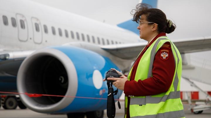 «Ни одна зараза не пройдет»: пассажирам аэропорта Волгограда ставят дистанционный градусник