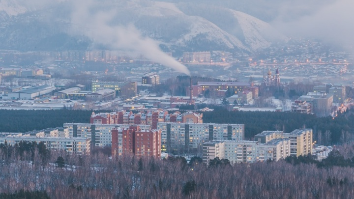 В Красноярск на выходных придут настоящие морозы