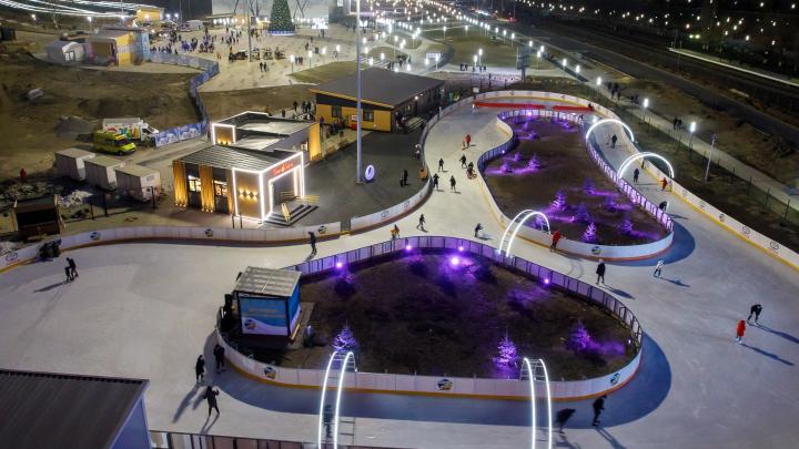 В Волгограде на старый Новый год откроется ночной каток