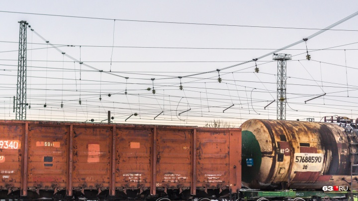 В Самарской области в грузовом вагоне нашли мертвую женщину