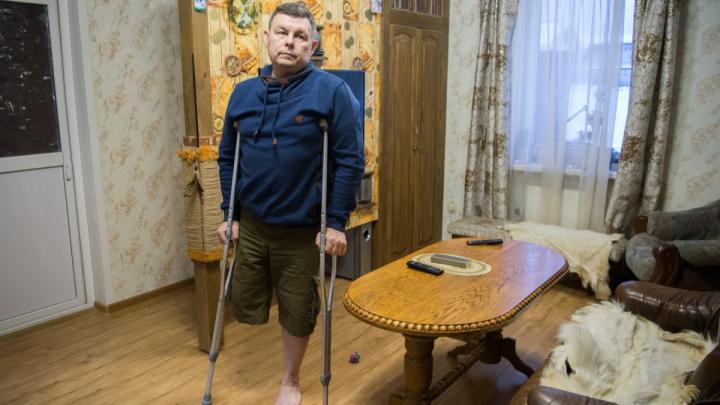 На Урале врачу ампутировали ногу из-за гангрены: медики занесли ему инфекцию времен Крымской войны