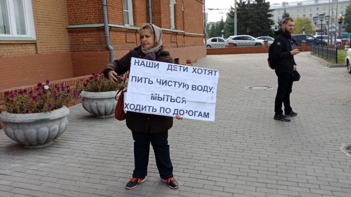 В полиции прокомментировали задержание многодетных омичек у горсовета