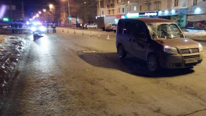 На Сулимова женщина-водитель Fiat насмерть сбила пешехода