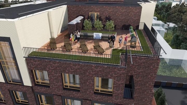 На крыше сделали террасу: построили уникальный жилой комплекс, где разрешили барбекю с видом на город