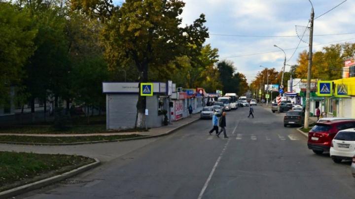 В Самаре снесли торговый павильон на улице Сергея Лазо
