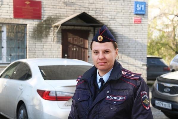 Майор Елагина принимает участие в конкурсе второй раз