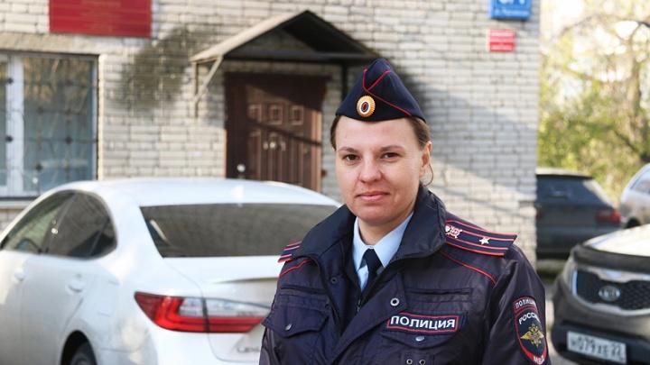 Майор Елагина стала лучшим участковым Новосибирска — за неё проголосовали почти 500 горожан