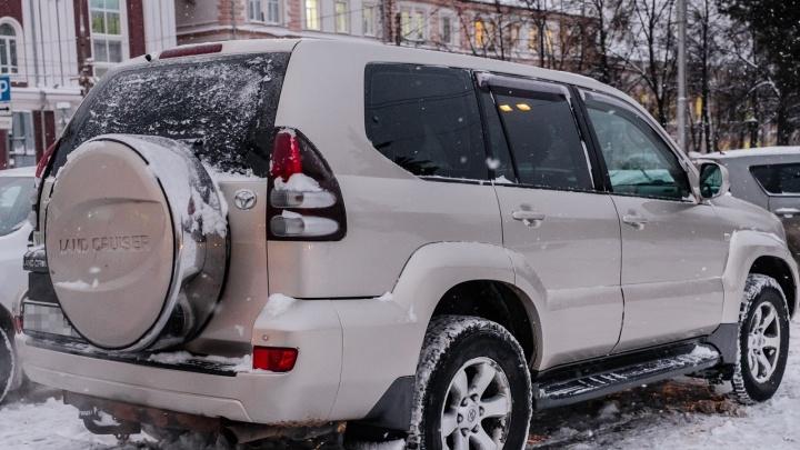 Пермские приставы арестовали за год почти тысячу машин. Среди них Range Rover, Lexus и Audi