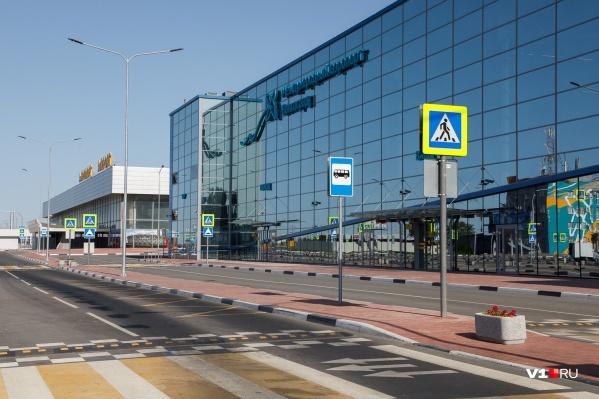 Международный аэропорт Волгограда пришлось эвакуировать