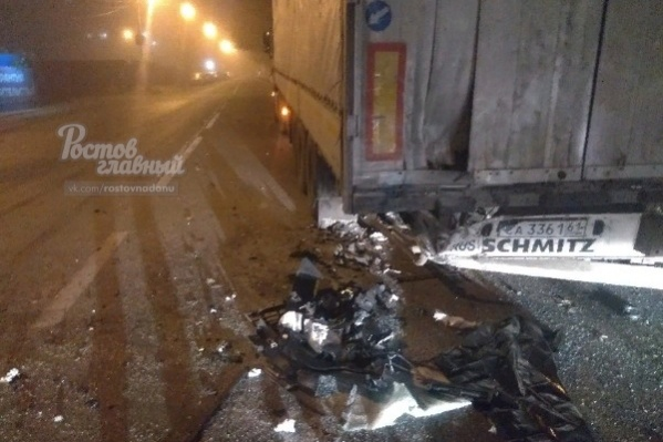 Авария произошла на Комарова