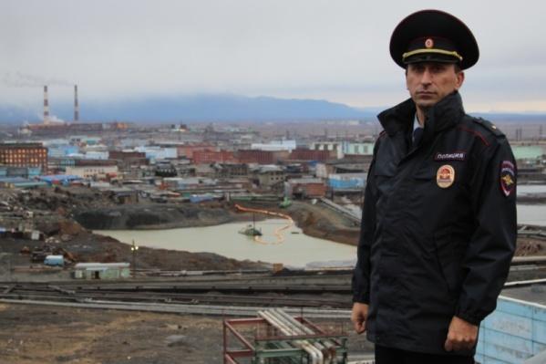 Лучший участковый Красноярского края – 2018 — Амилан Мамулыдзе