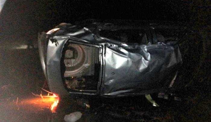 Перевернулся и погиб: на трассе в Башкирии иномарка «ушла» в кювет