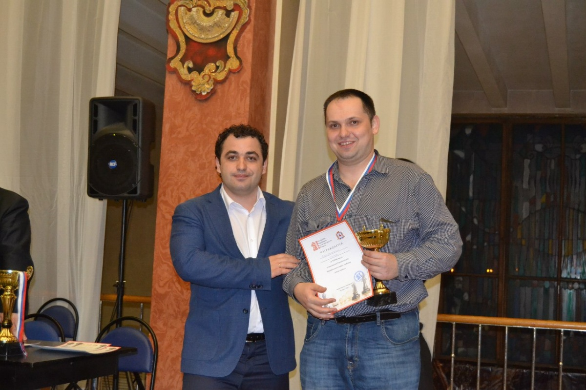 С президентом Федерации шахмат Нижегородской области Ильей Завиваевым