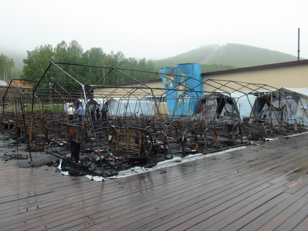 Пожар мог случиться из-за неисправного радиатора