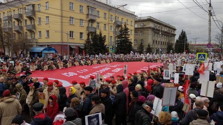 Красноярцы рассказывают в соцсетях, как отмечают День Победы