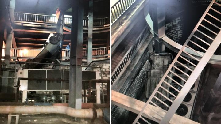 В Самаре Hyundai рухнул с четвёртого этажа парковки ТЦ «Гудок»