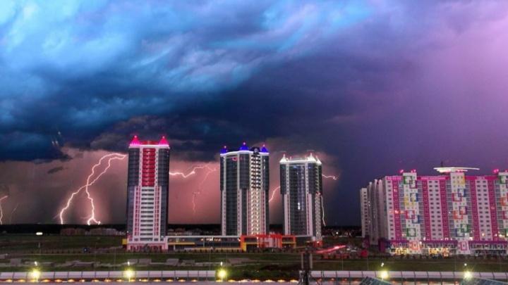 На Тюмень идет штормовой ветер: на город обрушатся ливень, гроза и град